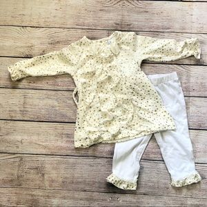 Sweet Heart Rose Polka Dot Outfit size 24 Month